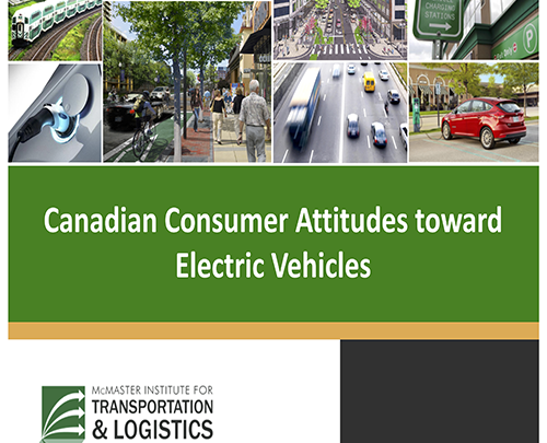 Canadian Consumer Attitudes Towards Electric Vehicles PowerPoint Slide