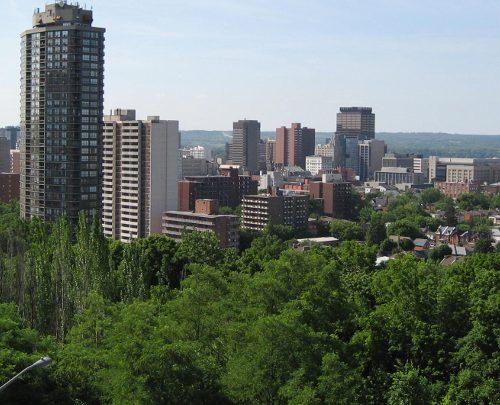 View of Hamilton