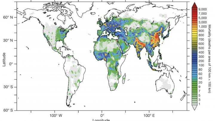 Graph of Air Pollution