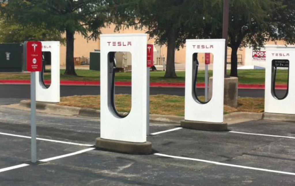 Photo of Tesla Charging Station