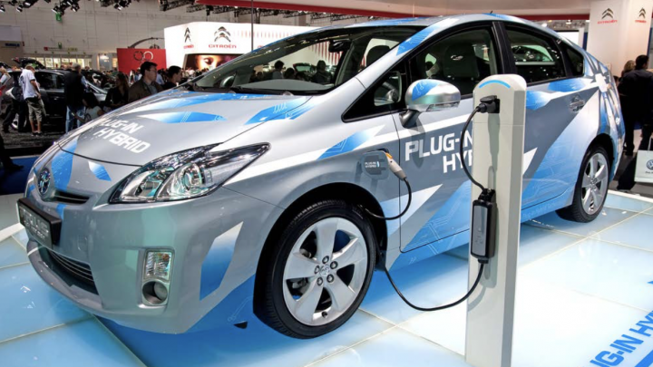Picture of Plug In hybrid vehicle