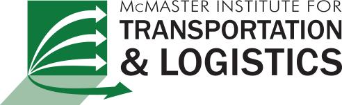 Logo for McMaster Institute for Transportation & Logistics (MITL)